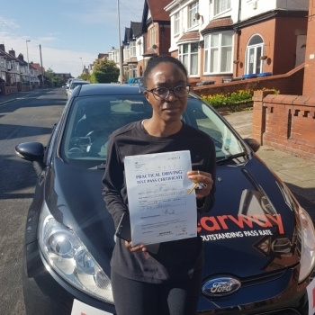 Fred, my driving instructor, was particularly helpful, was good with time and very patient.  He was  understanding of my situation which helped me to ultimately pass my driving test.  Glad to  have chosen Clearway for my driving school. Passed 19th June 2019.