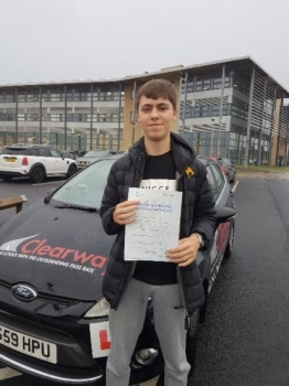 Thanks Fred for being an amazing instructor and for always being calm  I enjoyed every single lesson and I highly recommend Fred to anyone wanting to learn to drive.  Passed 26th November 2019.